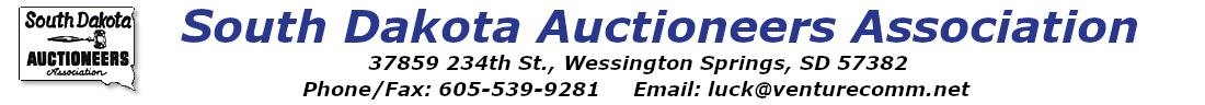 South Dakota Auctioneers Association