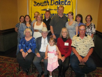 Shown second from left 2013 SDAA Hall of Famer Rich Krogstad Spearfish and