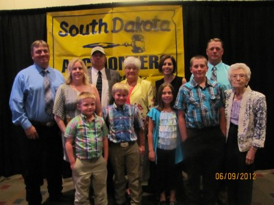 Gary Wieman's Induction to the Hall of Fame pictured with his family.